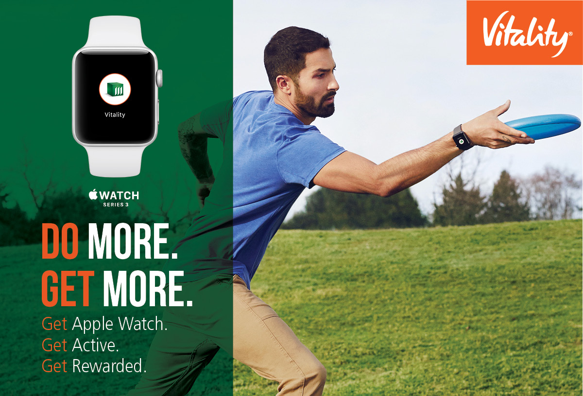 Do more. Get more. Get Apple Watch. Get Active. Get Rewarded.